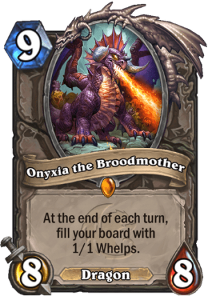 Onyxia the Broodmother Card