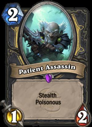 Patient Assassin Card