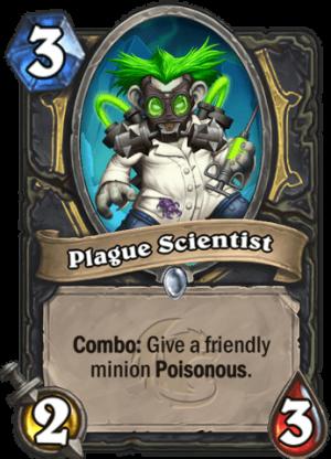 Plague Scientist Card