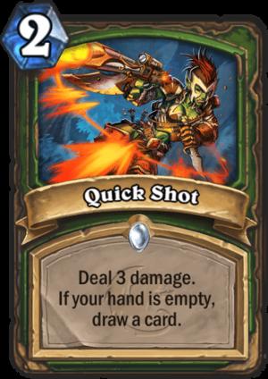 Quick Shot Card