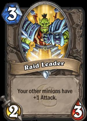 Raid Leader Card