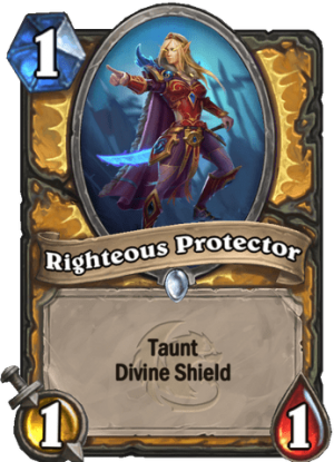 Righteous Protector Card