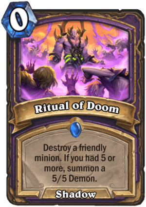 Ritual of Doom Card