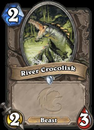 River Crocolisk Card