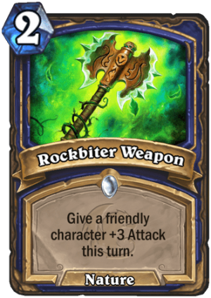 Rockbiter Weapon Card
