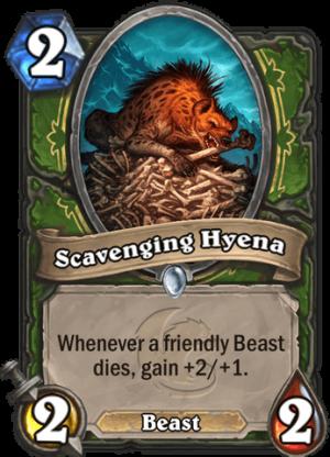 Scavenging Hyena Card