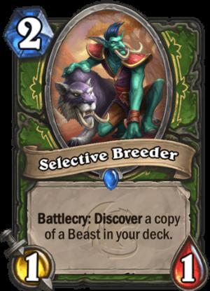 Selective Breeder Card