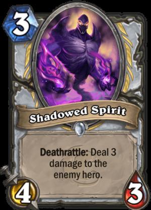 Shadowed Spirit Card