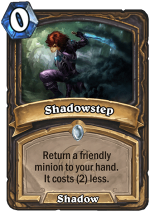 Shadowstep Card