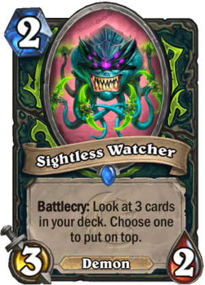 Sightless Watcher Card