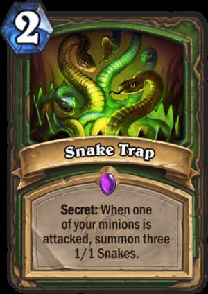 Snake Trap Card