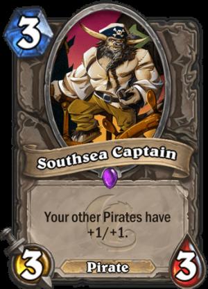 Southsea Captain Card