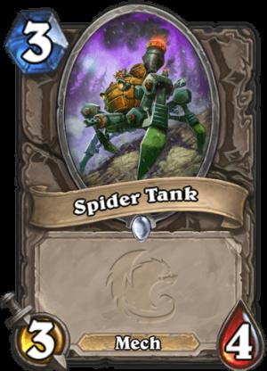 Spider Tank Card