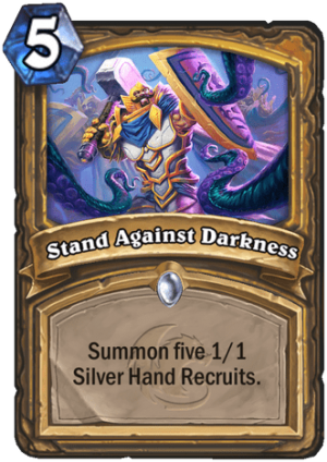Stand Against Darkness Card
