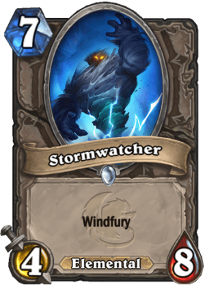 Stormwatcher Card