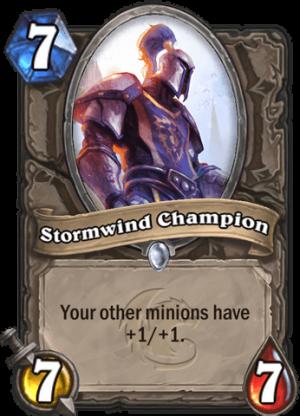 Stormwind Champion Card