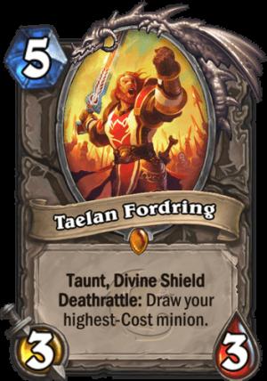 Taelan Fordring Card