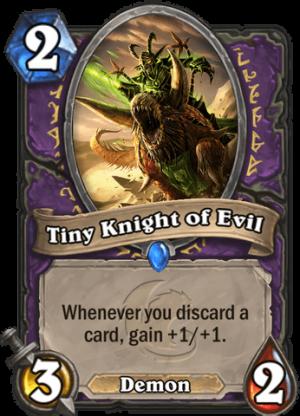 Tiny Knight of Evil Card