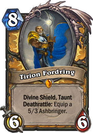 Tirion Fordring Card