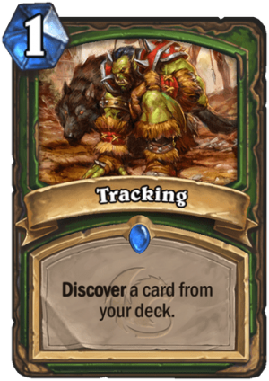 Tracking Card
