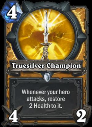 Truesilver Champion Card