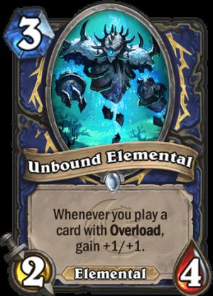 Unbound Elemental Card
