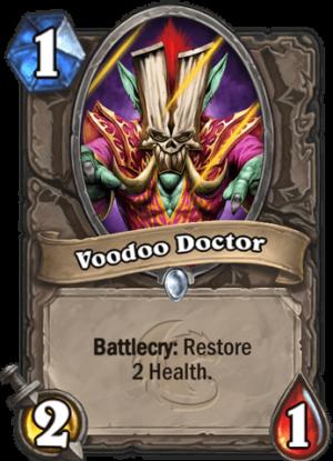 Voodoo Doctor Card