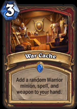 War Cache Card