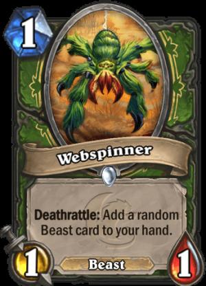 Webspinner Card
