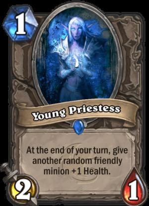 Young Priestess Card