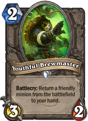Youthful Brewmaster Card