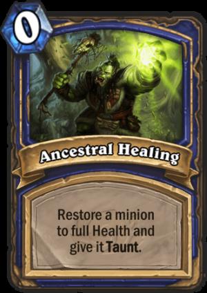 Ancestral Healing Card
