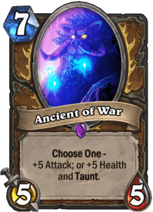 Ancient of War Card
