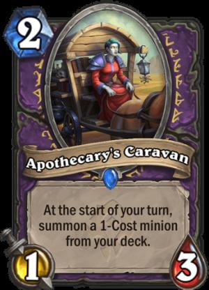 Apothecary's Caravan Card