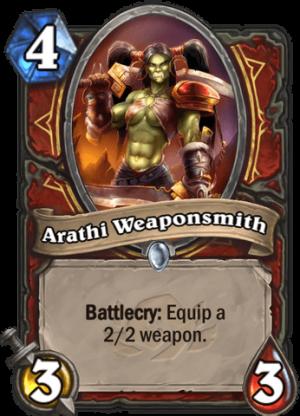 Arathi Weaponsmith Card