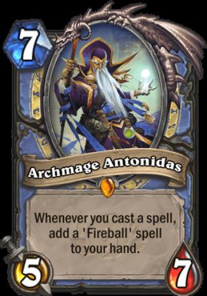 Archmage Antonidas Card