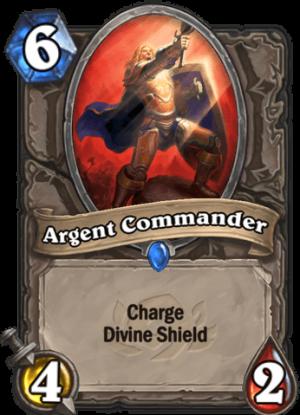 Argent Commander Card