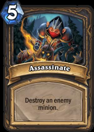 Assassinate Card