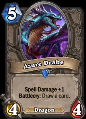 Azure Drake Card