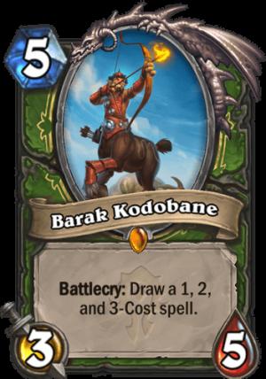 Barak Kodobane Card