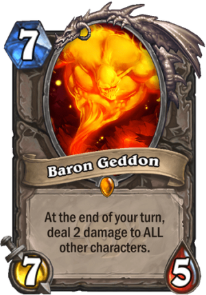Baron Geddon Card
