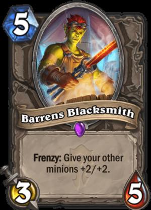 Barrens Blacksmith Card