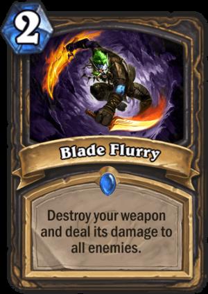 Blade Flurry Card