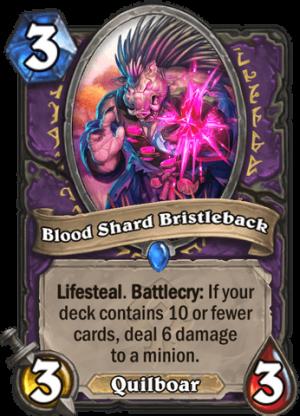 Blood Shard Bristleback Card