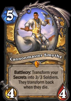 Cannonmaster Smythe Card