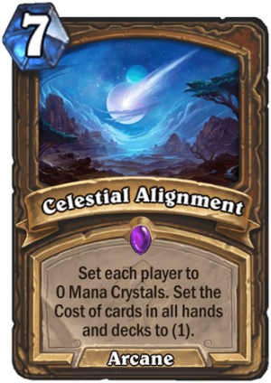 Celestial Alignment Card