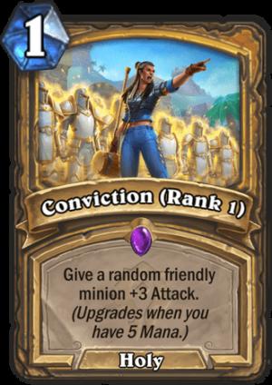Conviction (Rank 1) Card