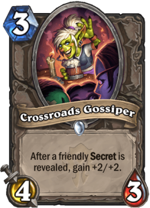Crossroads Gossiper Card