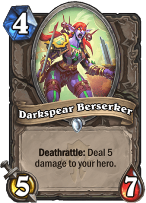 Darkspear Berserker Card