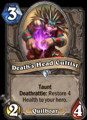 Death's Head Cultist Card
